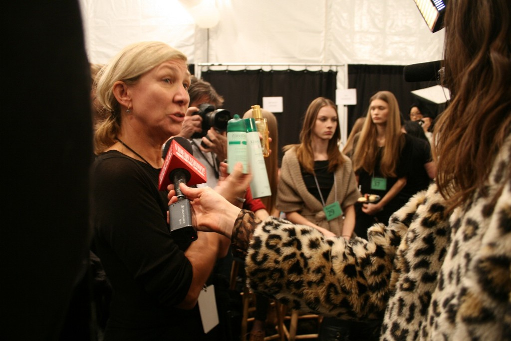 Hair stylist Odile Gilbert has agreed to work exclusively with Kerastase for the next three seasons.