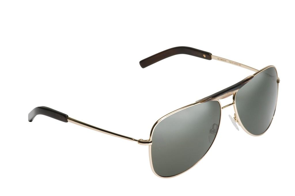 Giorgio Armani's 22-karat gold and horn sunglasses.