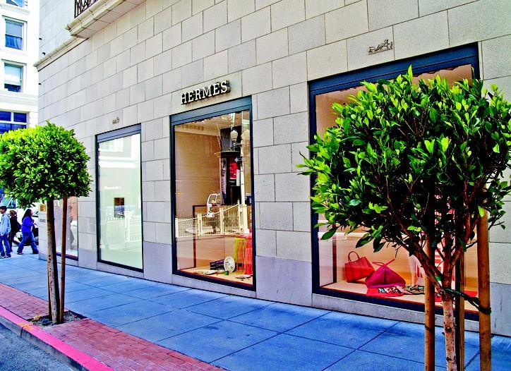Hermès Store in San Francisco.