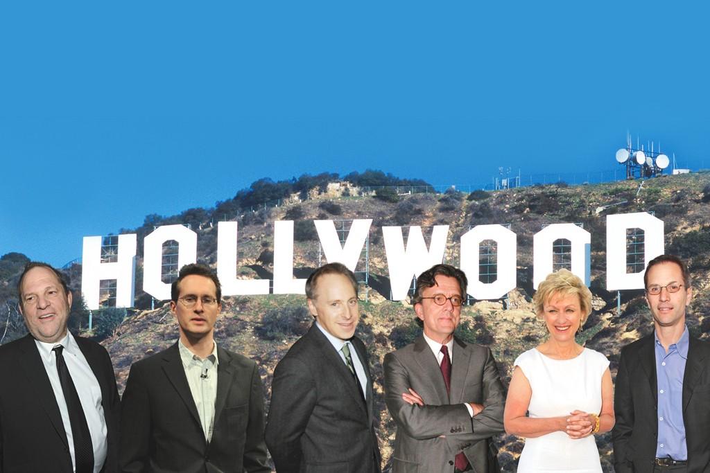 Harvey Weinstein, Henry Finder, Jacob Weisberg, Kurt Andersen, Tina Brown and Adam Moss