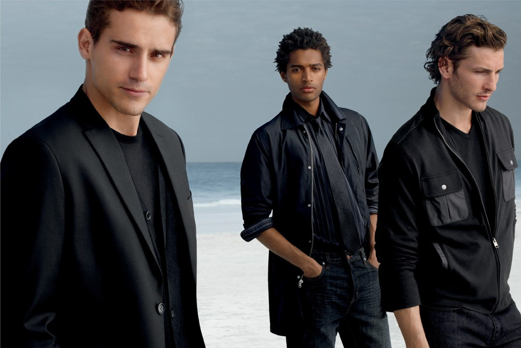 A visual from the Perry Ellis Black line.