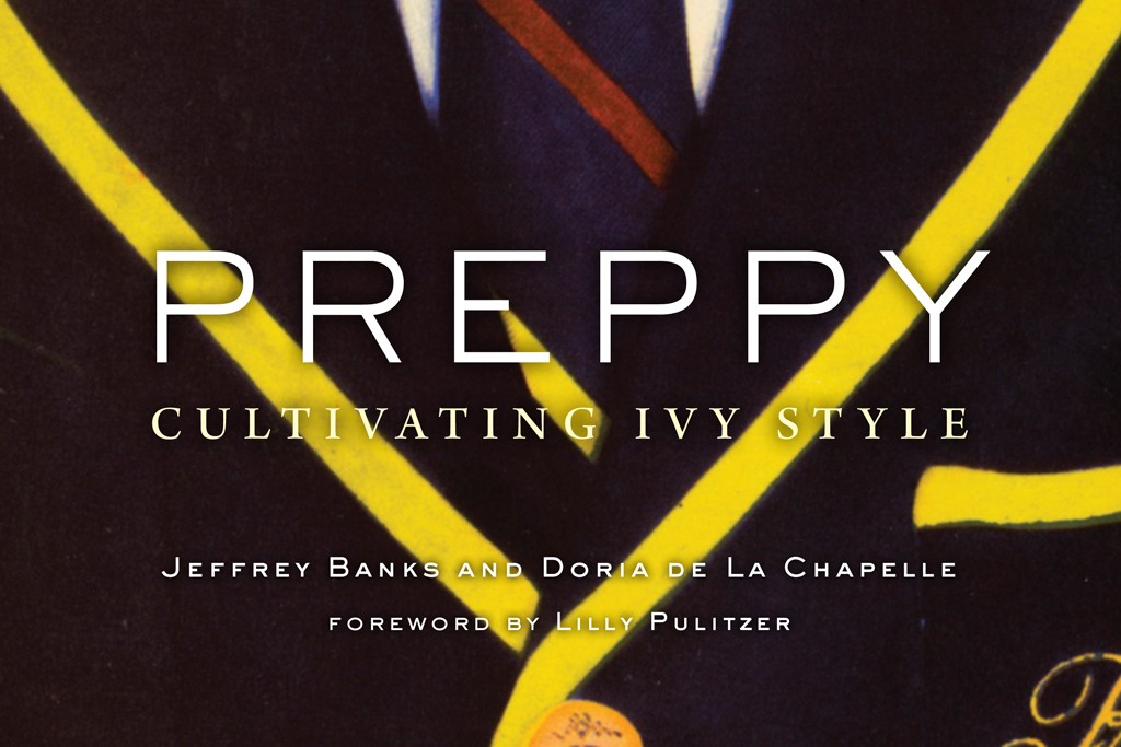 """The book cover of """"Preppy Cultivating Ivy Style."""""""
