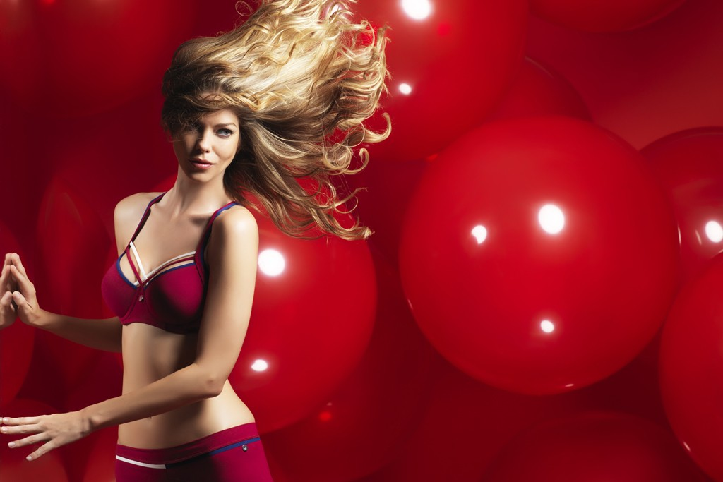 A look from the Red Daisy collection.