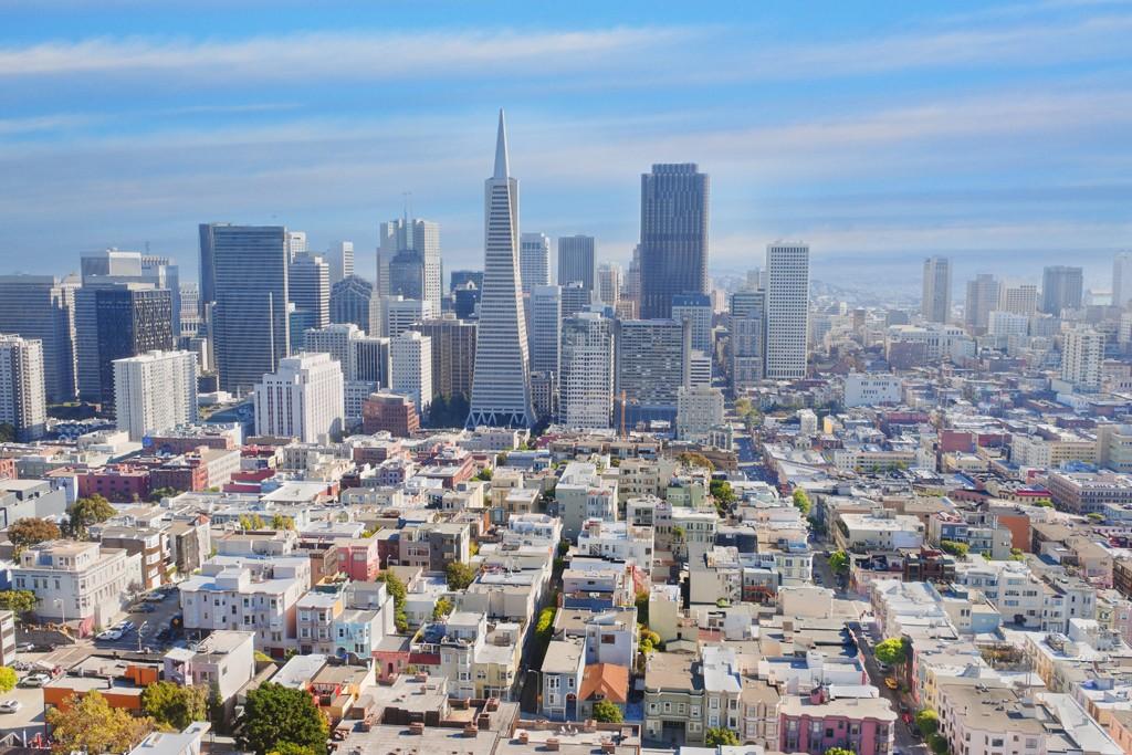 A view of San Francisco.