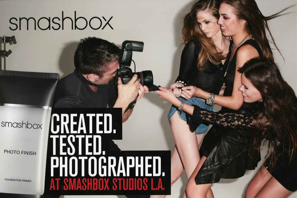 Smashbox's Terry Richardson ad.