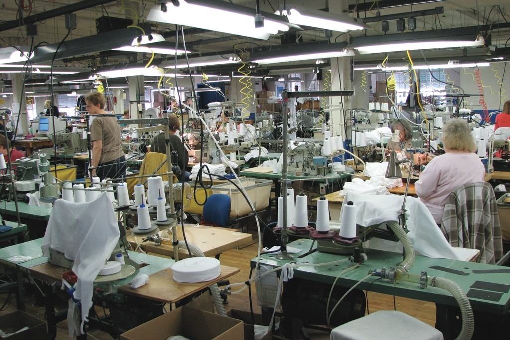 U.S. textile exports increased 20 percent in 2010.