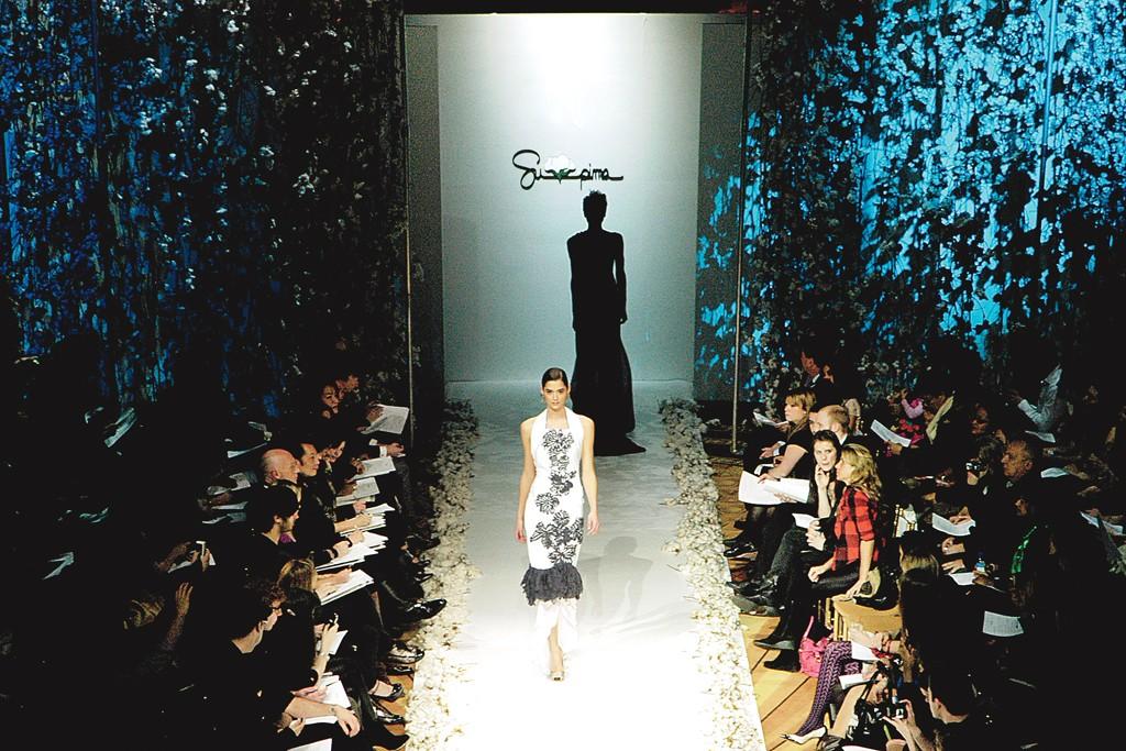 A Supima Fashion Show.