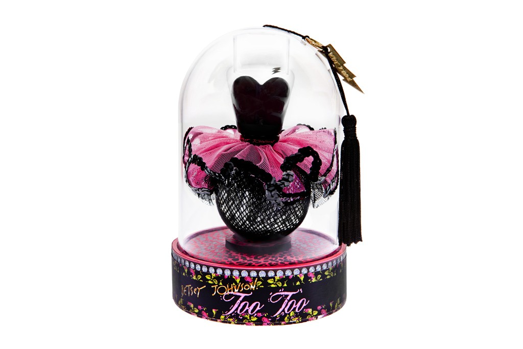 Betsey Johnson's TooToo in its packaging
