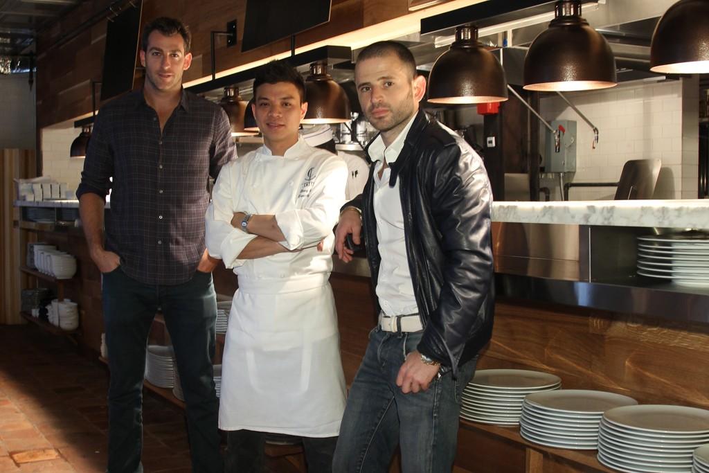 Mark Birnbaum, Hung Huynh, and Eugene Remm.