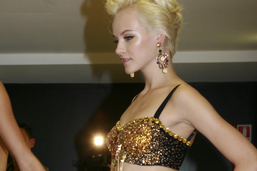 Backstage at Dolce & Gabbana Sprinng 2012
