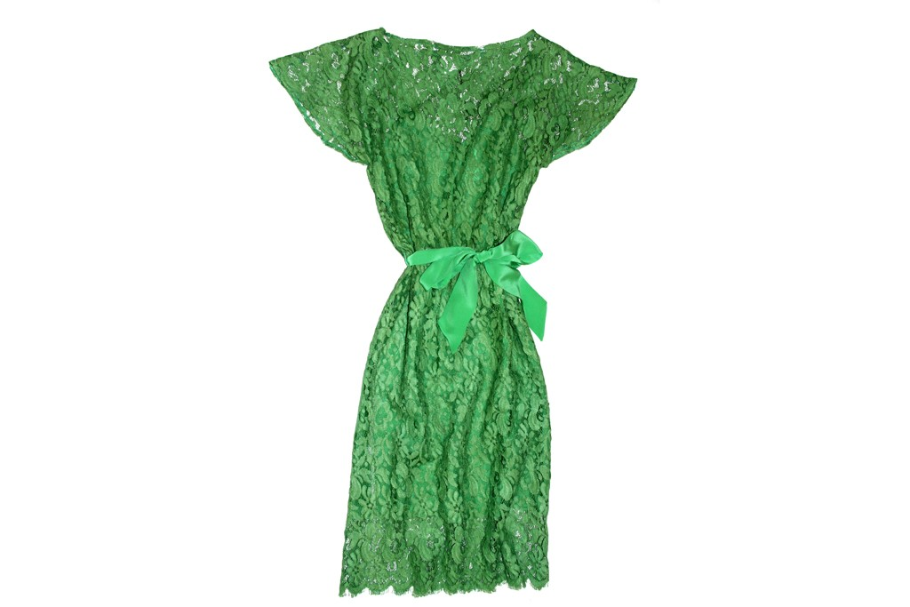 Miguelina's lace dress.