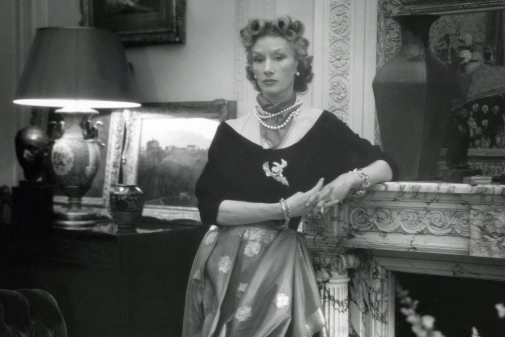 Millicent Rogers in her New York apartment in 1947.