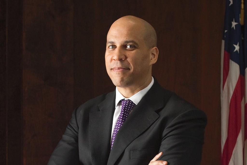 Newark Mayor Cory Booker.