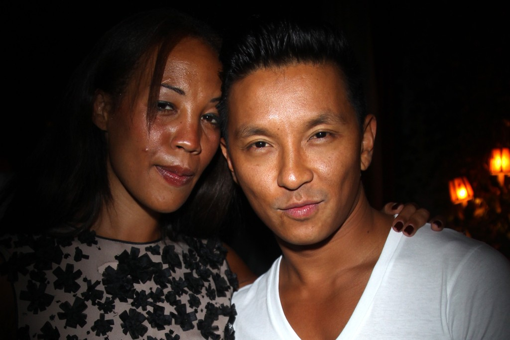 Maggie Betts and Prabal Gurung