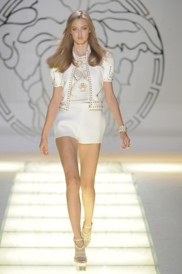Versace RTW Spring 2012