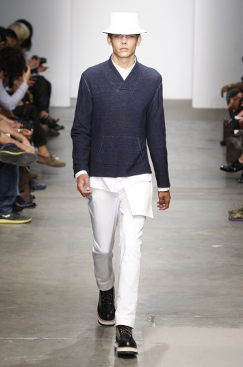 Yigal Azrouël Men's RTW Spring 2012