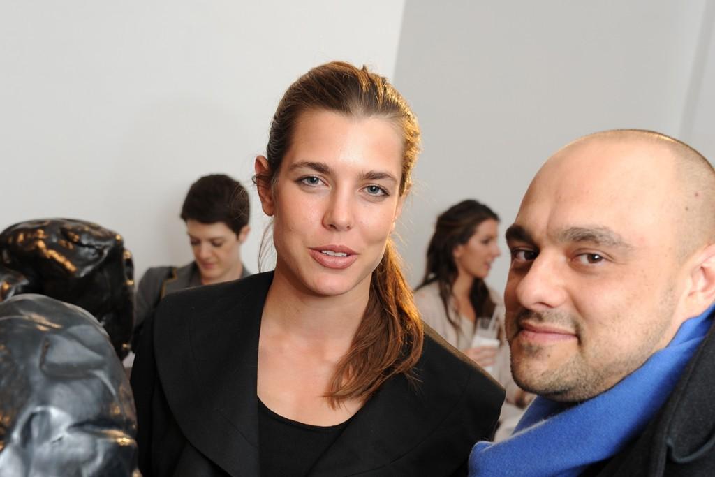 Charlotte Casiraghi and Alex Hoda