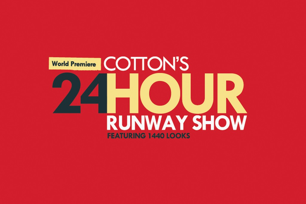 The 24-Hour Runway Show logo.
