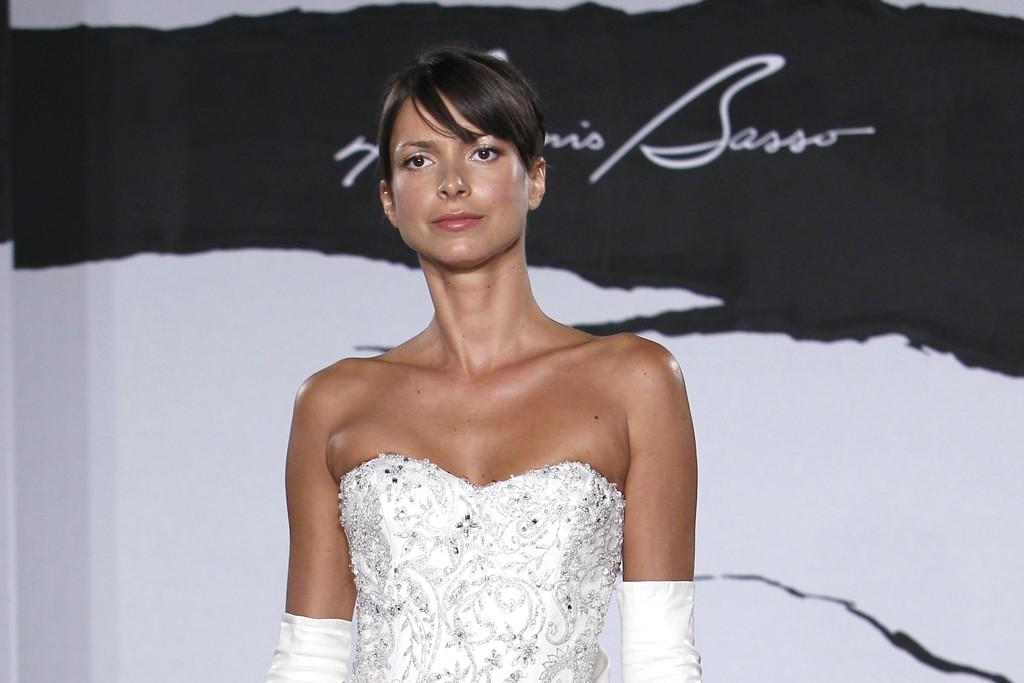 Dennis Basso Bridal Fall 2012