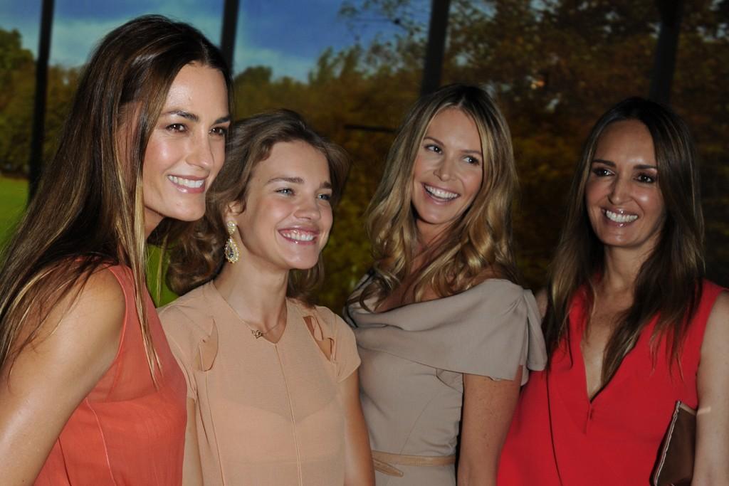 Yasmin Le Bon, Natalia Vodianova, Elle Macpherson and Gail Elliott.