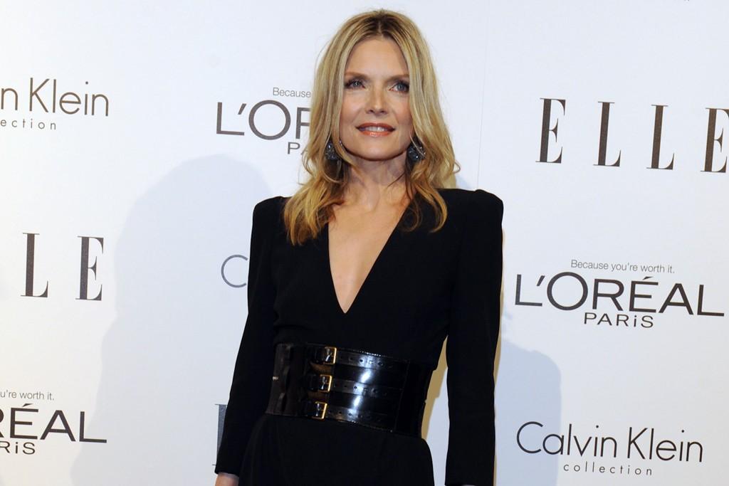 Michelle Pfeiffer in Alexander McQueen.