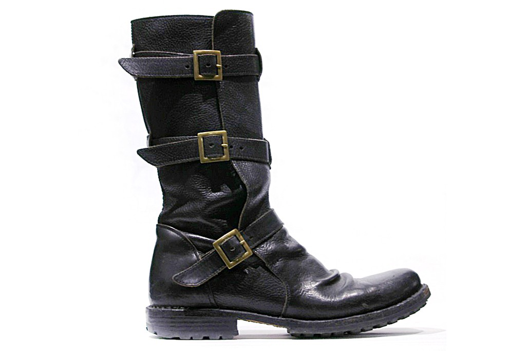 Fiorentini + Baker's limited edition Eternity Three Buckle Boot