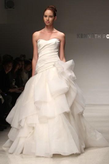 Kenneth Pool Bridal Fall 2012