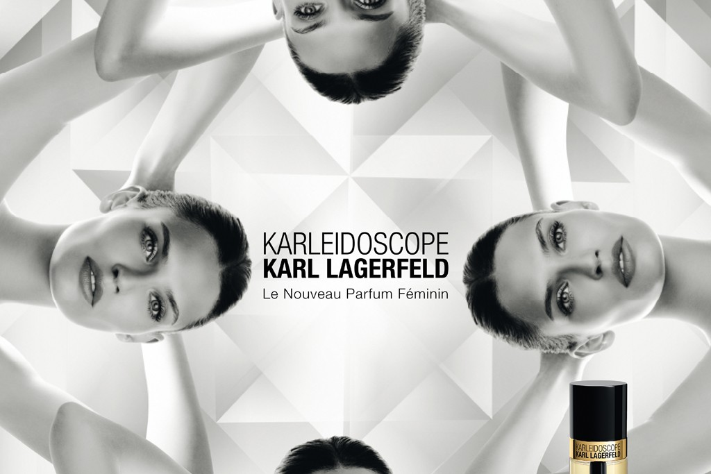 An ad visual for Karleidoscope by Karl Lagerfeld