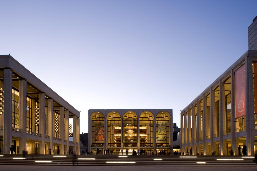 Lincoln Center in New York.