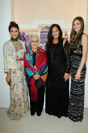 Margherita, Rosita, Angela and Jennifer Missoni.