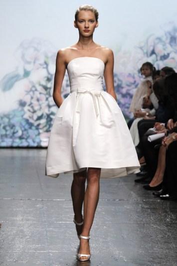 Monique Lhullier Bridal Fall 2012