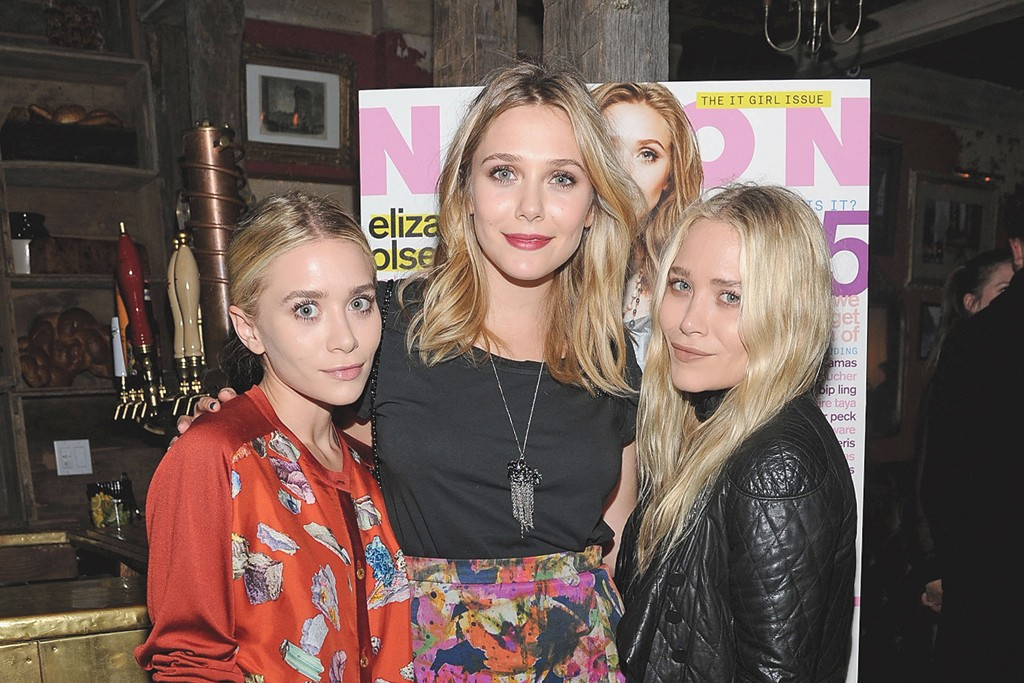 Ashley, Elizabeth and Mary-Kate Olsen at Sons of Essex.