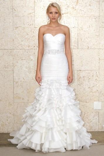 Oscar de La Renta Bridal Spring 2012