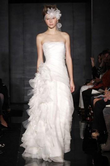 Reem Acra Bridal Fall 2012