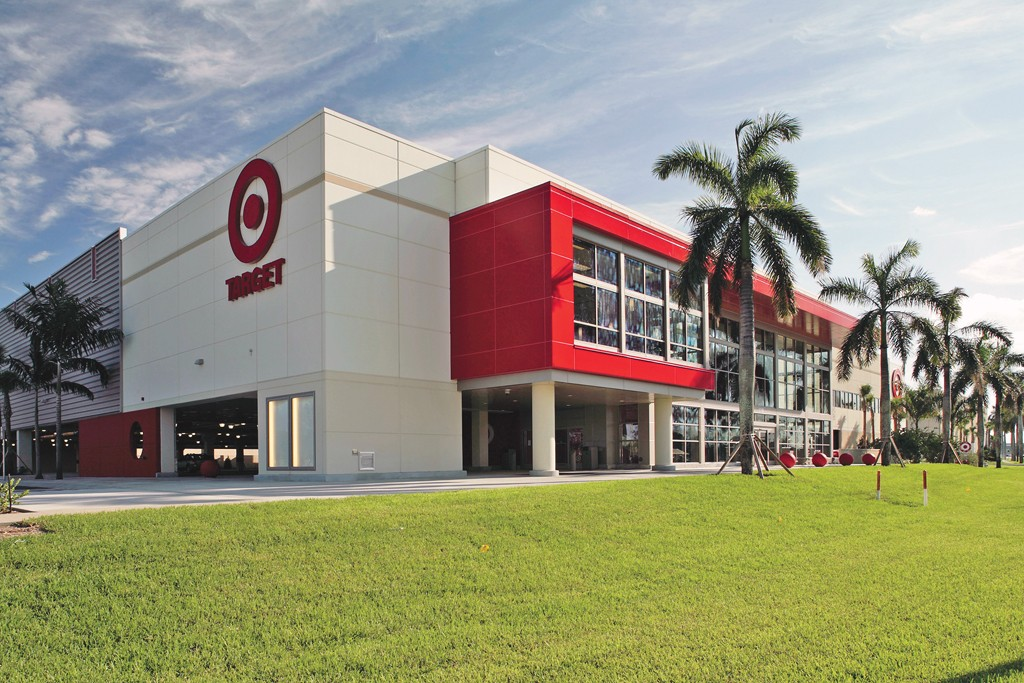 Target posted a 5.3 percent comp increase.