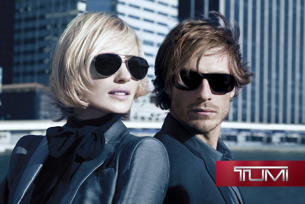 An image from Tumi's ad campaign