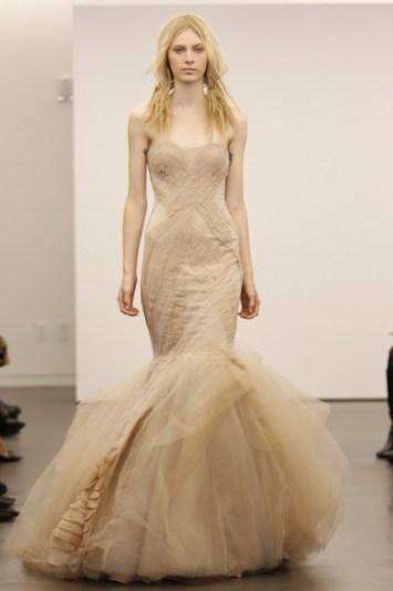 Vera Wang Bridal Fall 2012