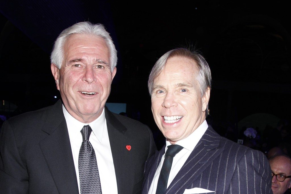 Rick Darling and Tommy Hilfiger