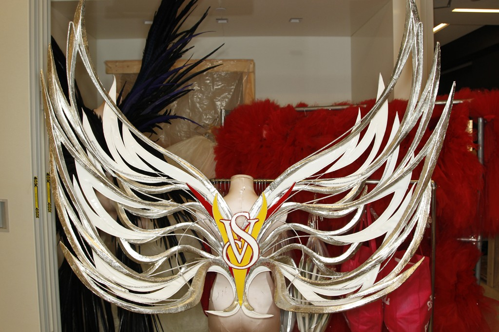 Angel Wings designs behind the scenes.