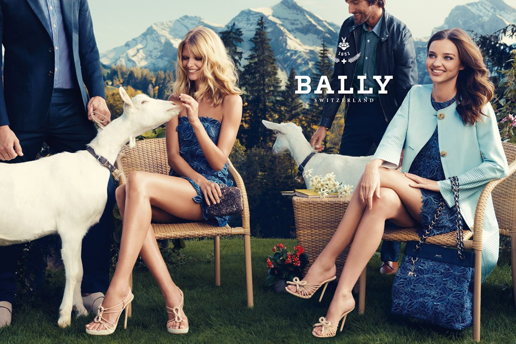 An image from the spring Bally campaign.