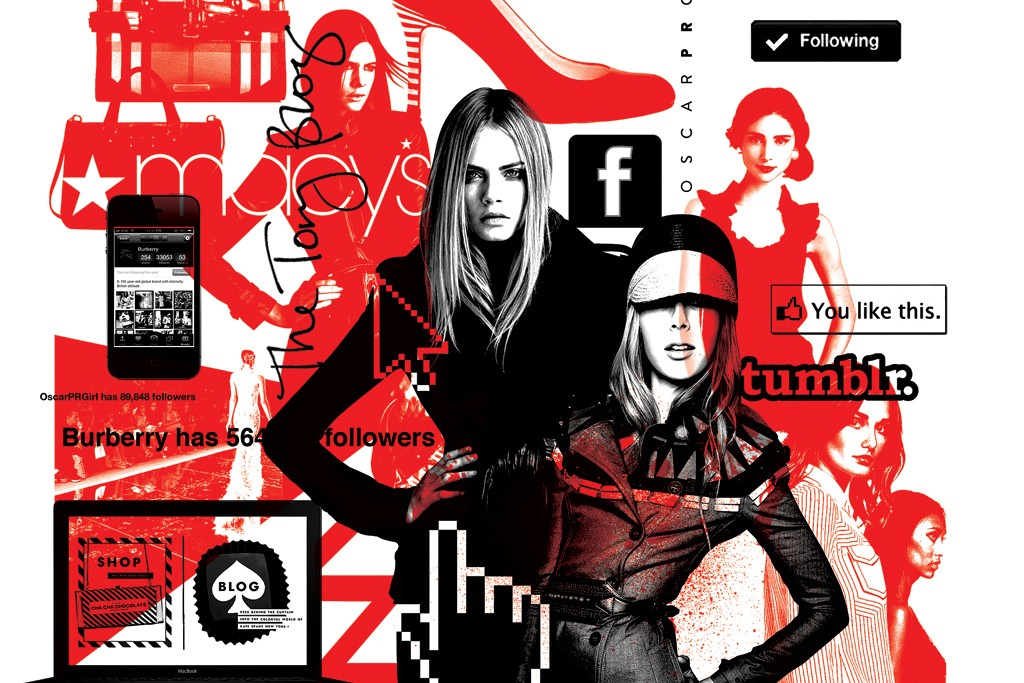 The fashion industry has embraced social media in all its instantaneous glory.