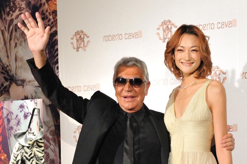 Roberto Cavalli and Ai Tominaga