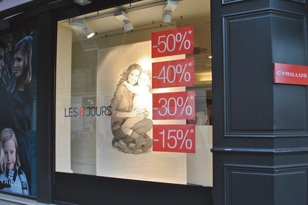 Discounts are everywhere in an attempt to attract reticent shoppers.