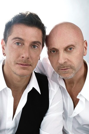 Domenico Dolce and Stefano Gabbana