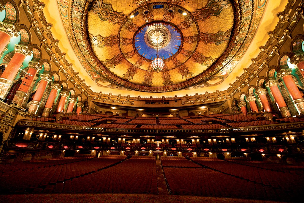 The Fox Theater, built in 1928 and restored in 1988.