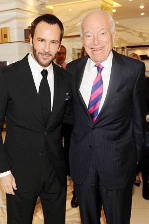 Tom Ford and Leonard Lauder