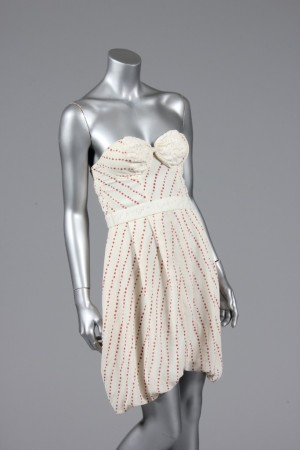 The dress that Amy Winehouse wore on the cover of her 2006 album.