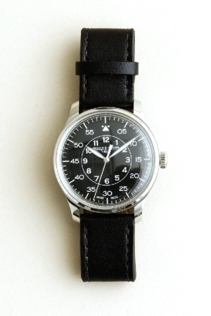 A watch from J. Crew's collaboration with Tourneau