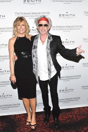 Patti Hansen and Keith Richards