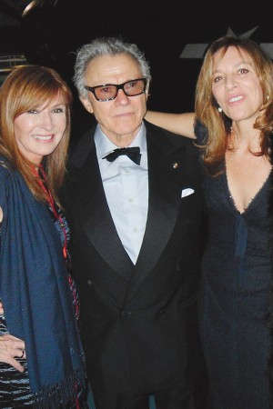 Nicole Miller, Harvey Keitel and Daphna Kastner.